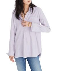 Madewell Ex Boyfriend Flannel Shirt