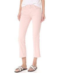 Pink Flare Jeans