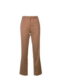 Etro Brocade Patterned Flared Trousers