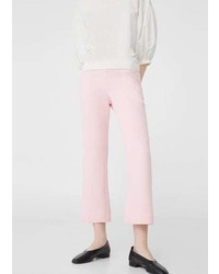 Mango Flare Crop Trousers
