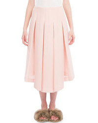 Simone Rocha Box Pleated Midi Skirt