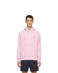 Polo Ralph Lauren Pink Fleece Cabin Hoodie