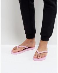 Hype Flip Flops In Pink