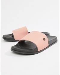 Kg Kurt Geiger Kg By Kurt Geiger Slider Flip Flops In Pink