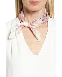 Rebecca Minkoff Twilight Floral Silk Bandana