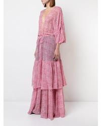 Saloni Flared Beach Dress