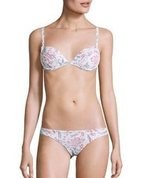 Zimmermann Zephyr Two Piece Quilted Floral Bikini Top Bottom