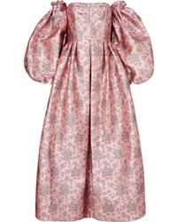 Erdem Klyn Convertible Metallic Brocade Gown