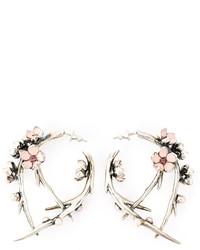 Cherry blossom rhodalite earrings medium 268757