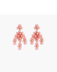 J.Crew Floral Cascade Earrings