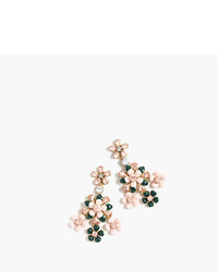 J.Crew Floral Chandelier Earrings
