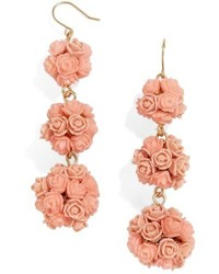 BaubleBar Floral Crispin Earrings