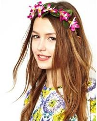 Asos Limited Edition Garden Flower Hairband Pink