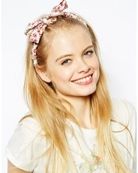Asos Twisted Floral Headband