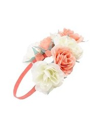 Capelli of New York Oversized Floral Crown Headband