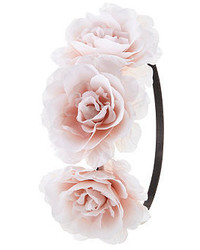 Charlotte Russe Oversized Rose Flower Crown
