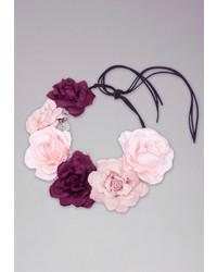 Bebe Flower Crown With Stones