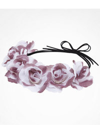 Express Large Flower Crown Purple Ombre
