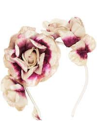Topshop Velvet Flower Garland
