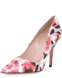 Kate Spade New York Licorice Floral Pointed Toe Pump Multi