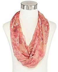 jcpenney Floral Print Infinity Scarf