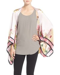 Ted Baker London Encyclopedia Floral Cape Scarf