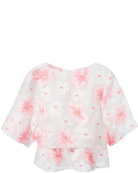 Chloe chloe floral layered blouse medium 159356