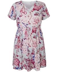 Junarose floral print skater dress medium 417060