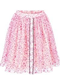 Fendi Sheer Floral Skirt