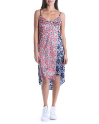 KUT from the Kloth Calah Block Print Highlow Dress