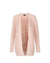 Pink Fluffy Cardigan