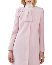 London bow neck coat medium 1125503