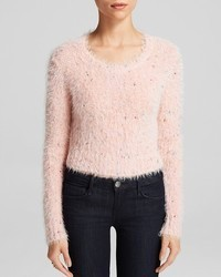 Glamorous Sweater Bloomingdales Fuzzy Crop