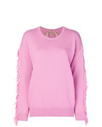 N°21 N21 Fringe Trim Sweater