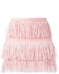 Msgm fringed skirt medium 232370