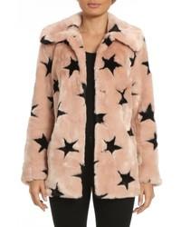 Faux fur swing coat medium 6748264