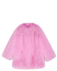 Gucci Fox Fur Coat