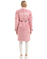 Moncler La Chapelle Fur Down Coat