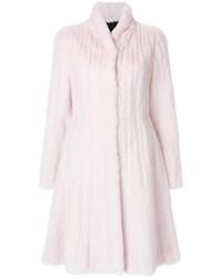 Liska Fur Detail Coat
