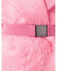 No.21 No21 Belted Fur Coat
