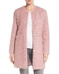 Via Spiga Reversible Faux Fur Coat