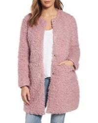 Reversible faux fur coat medium 4950655
