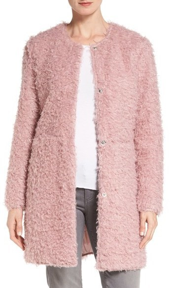 e74f5f881 Via Spiga Reversible Faux Fur Coat, $210 | Nordstrom | Lookastic.com