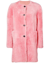 Marni Shearling Lined Coat