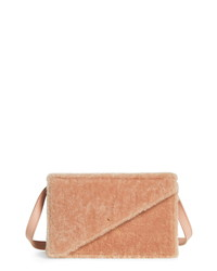 D ESTREE Destree Martin Genuine Shearling Crossbody