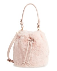 BP. Furry Faux Fur Crossbody Bag