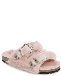 Falcon faux fur slide sandal medium 3722039