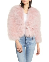 Rebecca Minkoff Harper Feather Jacket