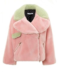 Pippa Vivetta Pink Faux Fur Jacket