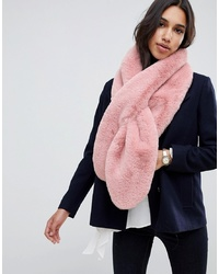 ASOS DESIGN Oversized Faux Fur Scarf